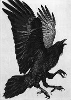 krauklis, raven, latvian folklore, latvian mythology, latviešu folklora, latviešu mitoloģija, capital r, 2018