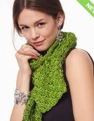 http://www.yarnspirations.com/pattern/crochet/bias-scarf