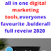 Builderall Best  Review 2020: everything you ever needs to grow your business online ,clickfunnel,kartra & groovespage  best alternative