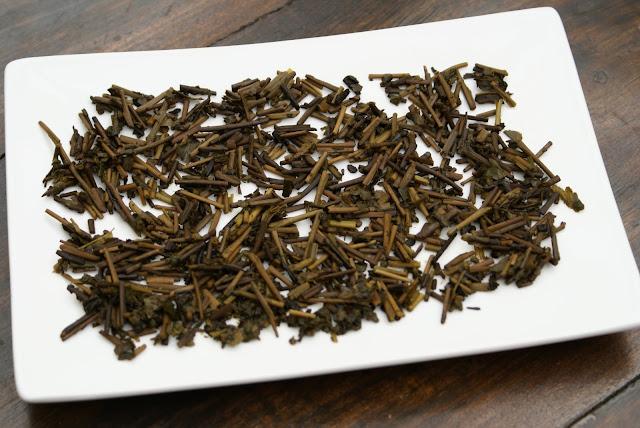 thé kukicha grillé