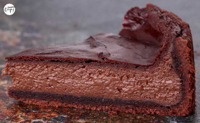 Flan au chocolat Yann Bryss