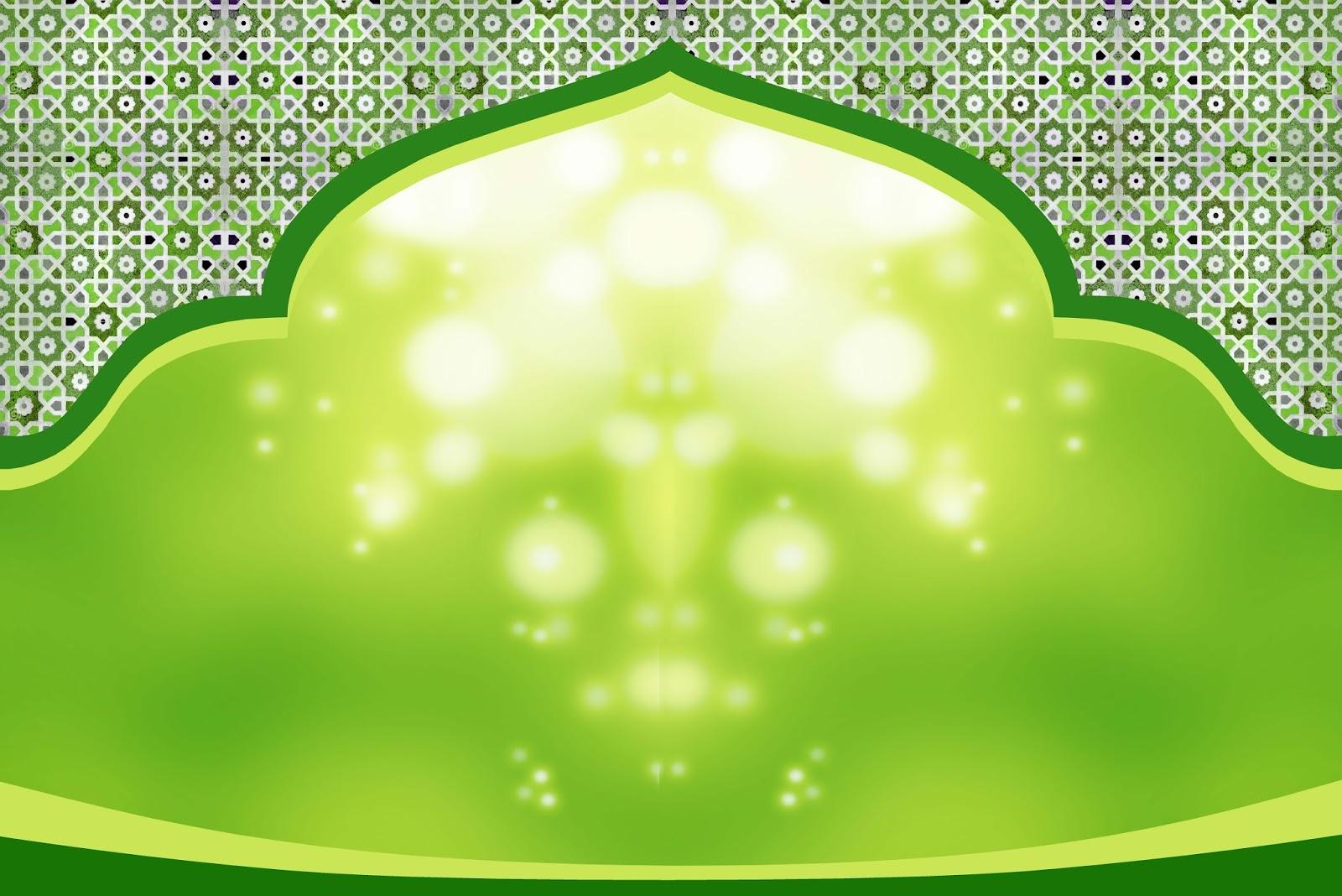 background islamic green