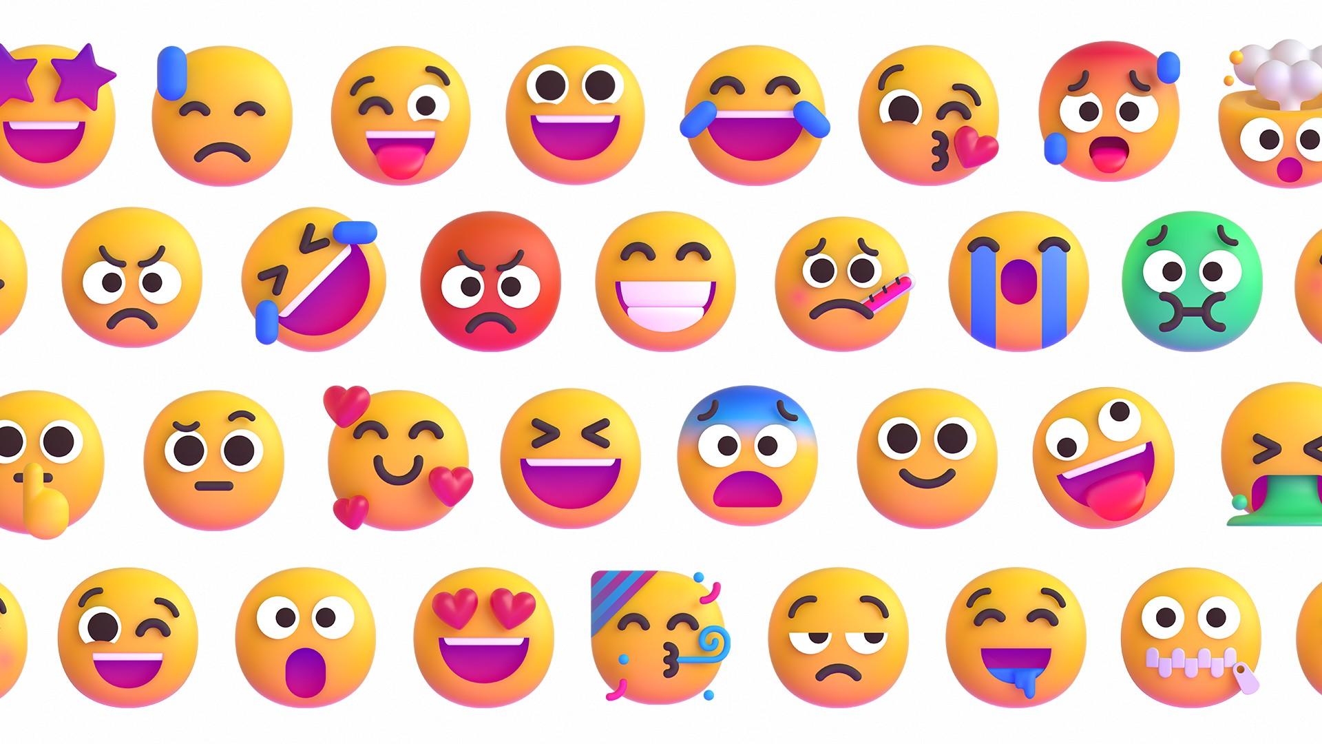 Emoji nuevos en Windows