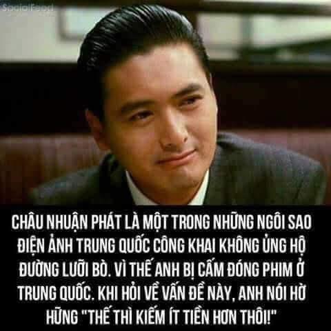 """Châu Nhuận Phát: cuộc sống giản dị, không đăng ủng hộ """"Đường Lưỡi Bò xâm lược"""""""