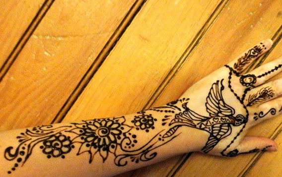 Henna flower designs meanings henna tattoos