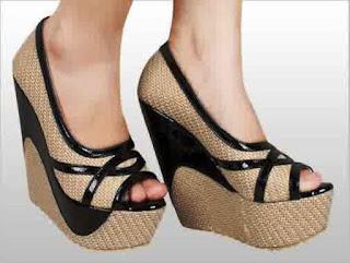 Sandal Wedges Cantik Yang Paling Disukai Wanita 201609