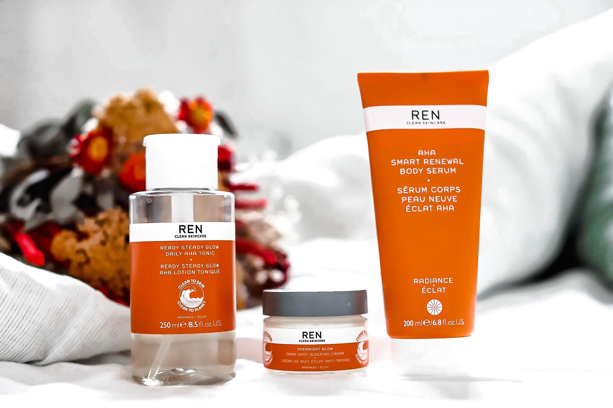 REN Skincare soins glow éclat