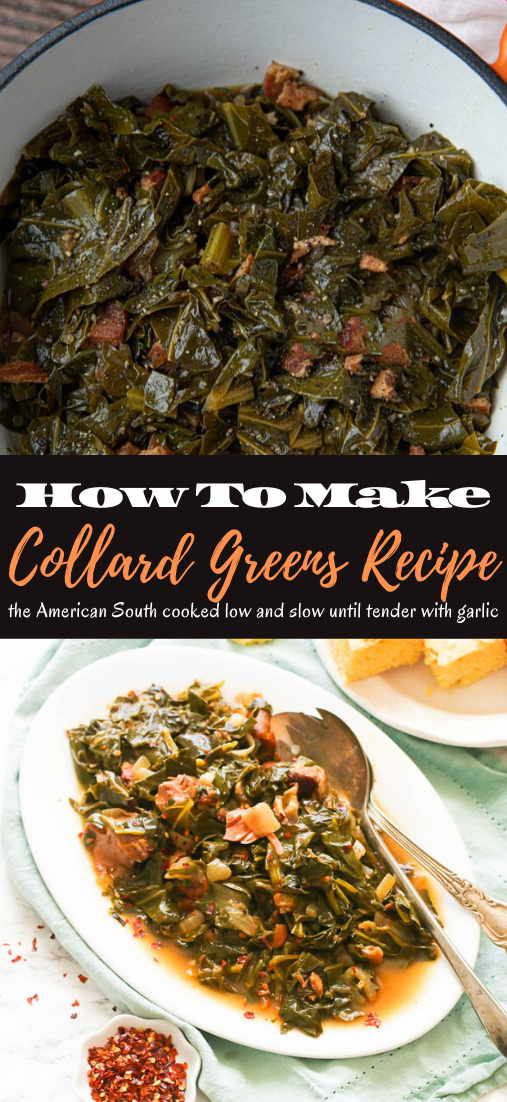 Collard Greens Recipe #vegan #vegetarian #soup #breakfast #lunch