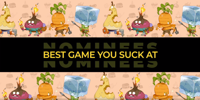 The Steam Awards 2020 Category - Best Game You Suck At