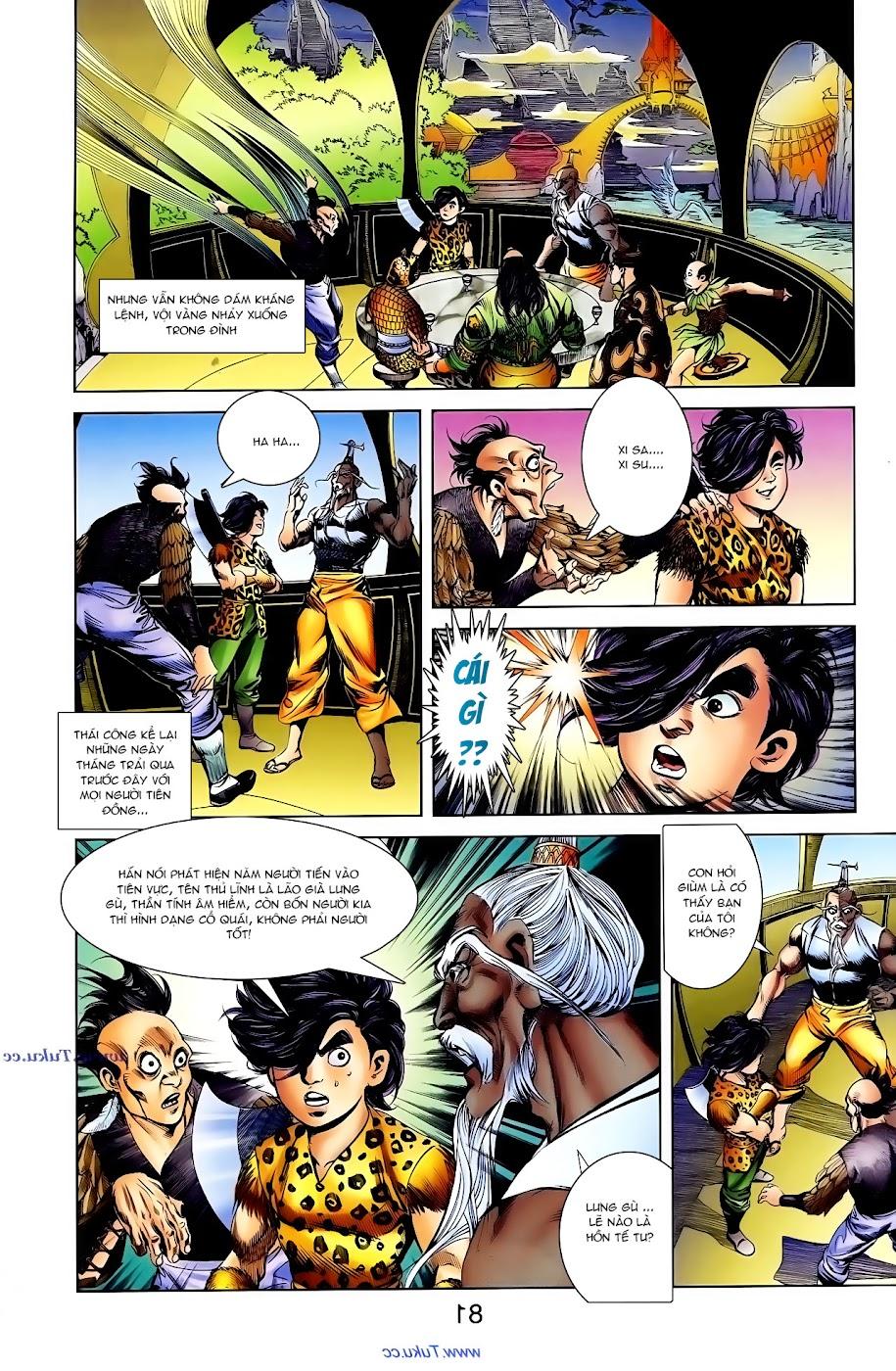 Cơ Phát Khai Chu Bản chapter 104 trang 21