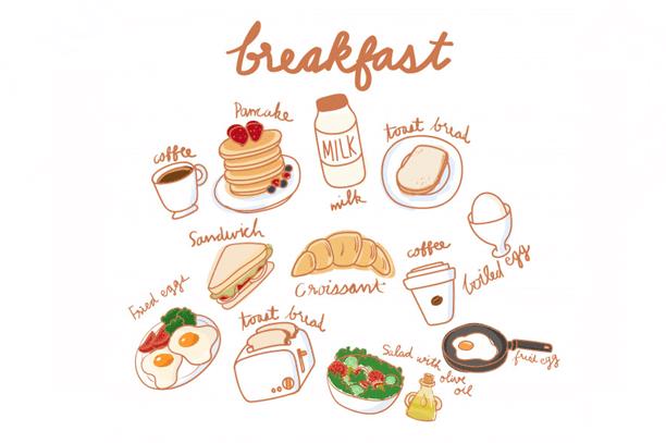 sarapan pagi sihat