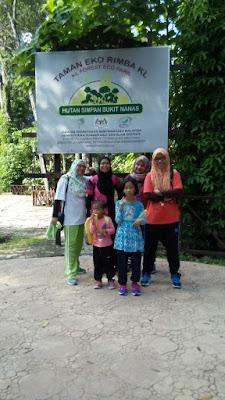 Canopy Walk @ Taman Eco Rimba, KL