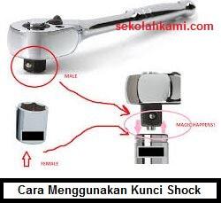 cara menggunakan kunci shock