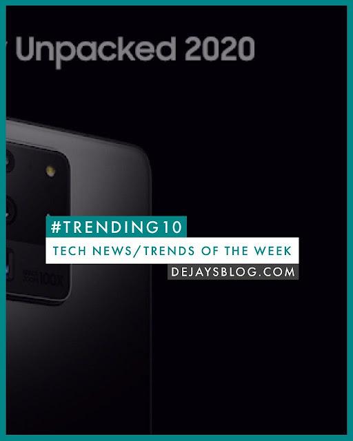 #TRENDING10 - Top 10 Tech News / Trends of the Week #7 Cover Art