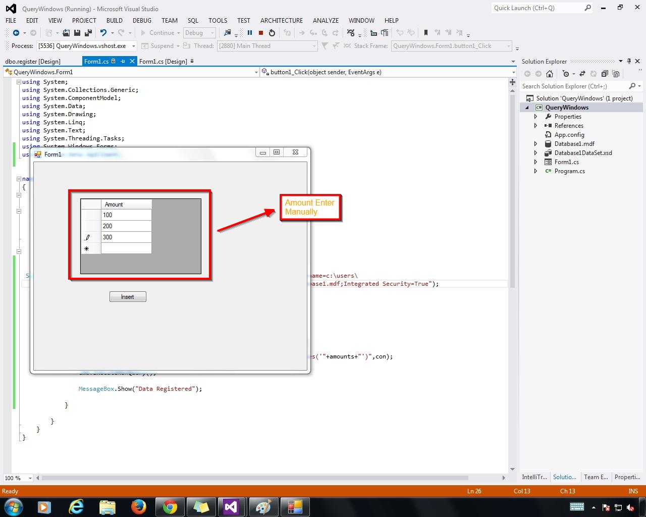 Gridview Manually edit