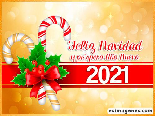 tarjeta de feliz navidad 2021
