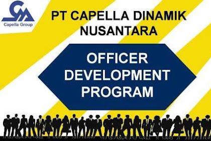 Lowongan PT. Capella Dinamik Nusantara Pekanbaru Mei 2019