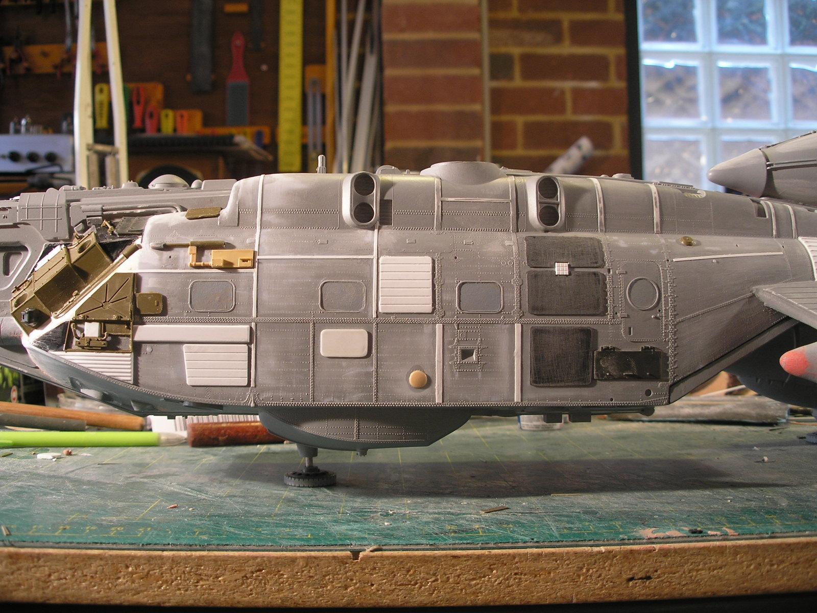 Rc Sci Fi Kit Bash Shuttlecraft Part 4