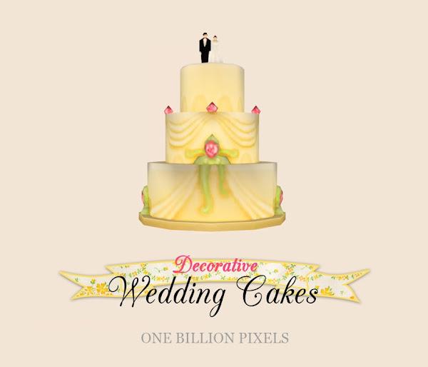 Decorative Wedding Cakes - One Billion Pixels