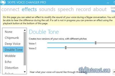 skype audio changer