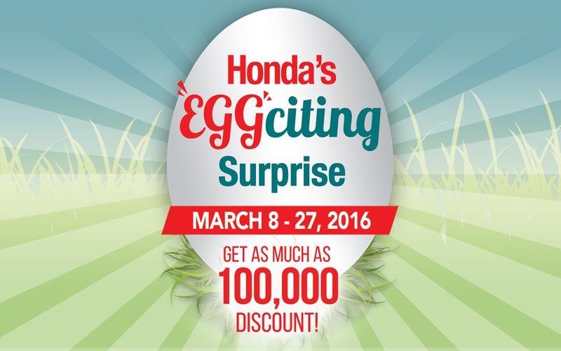 Honda's EGGciting Surprise