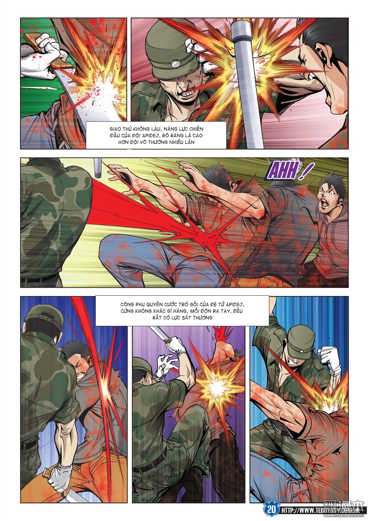 Người Trong Giang Hồ chapter 2026: khí diệm tông sư trang 19