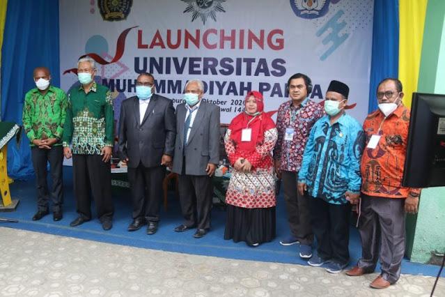Benhur Tomi Mano Hadiri Launching Universitas Muhammadiyah Papua