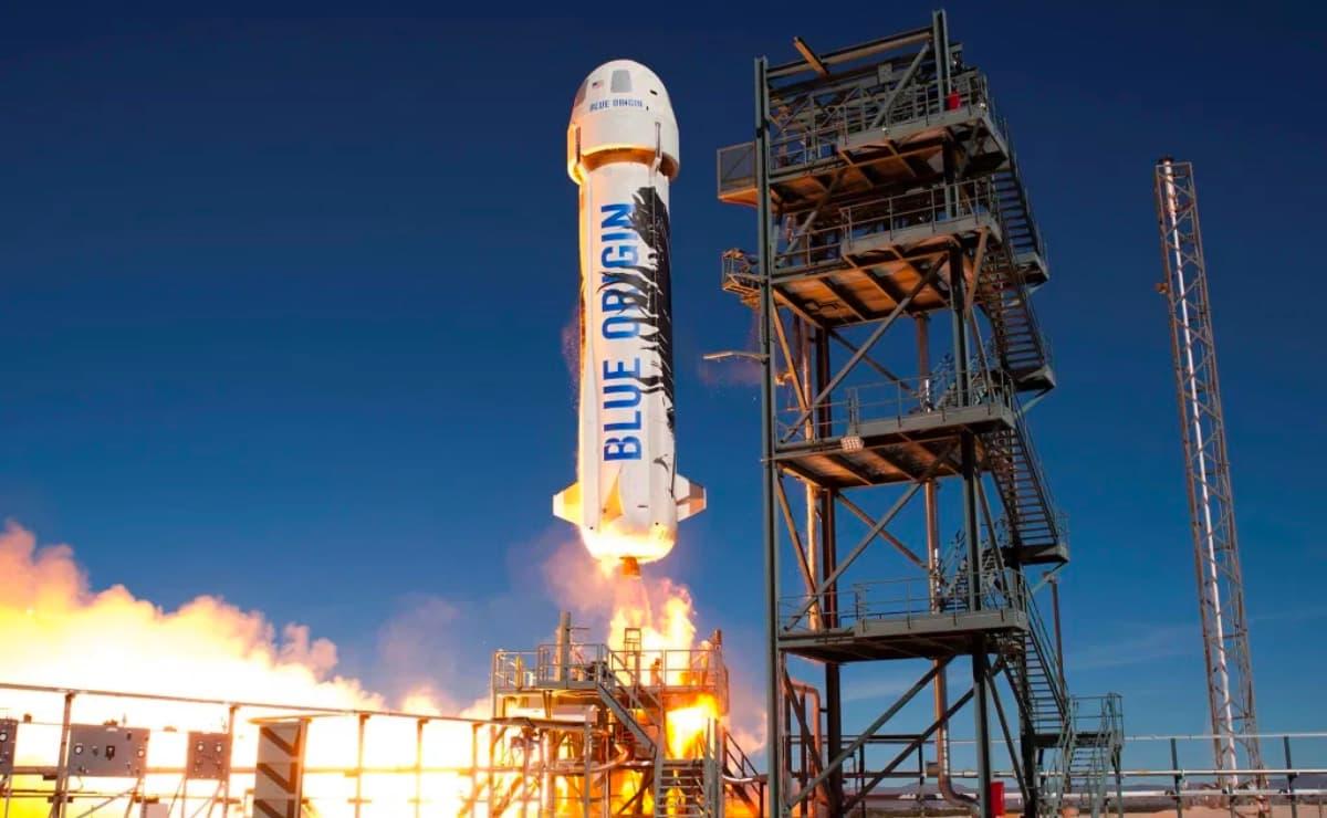 Blue Origin. Espaçonave New Shepard