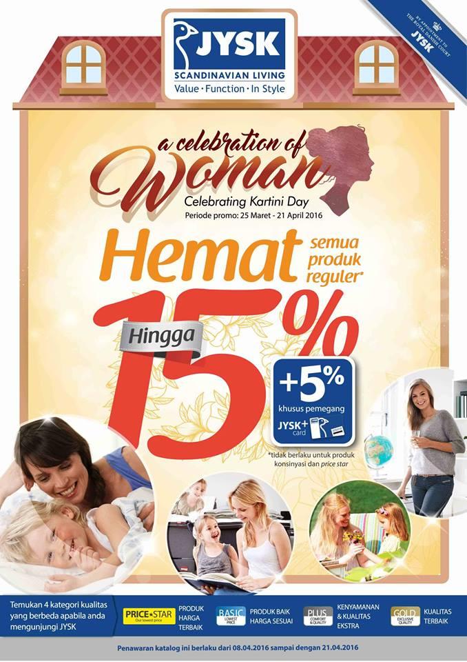 Katalog Promo JYSK 8 – 21 April 2016