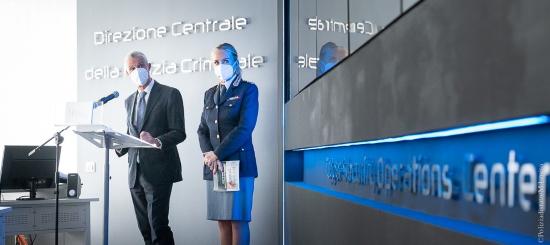 Roma: inaugurata la nuova sala C-SOC (Cyber Security) della Polizia Criminale [VIDEO]