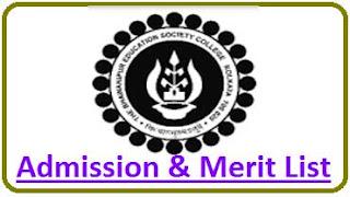 Bhawanipur College Merit List