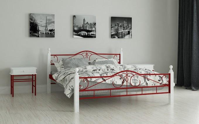 Кровать металлическая Адель 120х190/200 ТМ Мадера