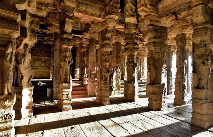 लेपाक्षी मंदिर का इतिहास जिसके पिलर हवा में झूलते हैं जाने इस मंदिर के बारे में।