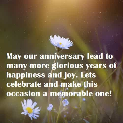Happy anniversary quotes with images for couples