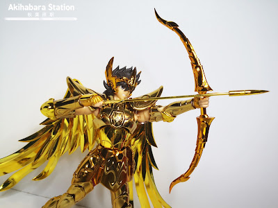 Saint Cloth Myth EX Sagittarius Seiya Gold Cloth de Saint Seiya - Tamashii Nations