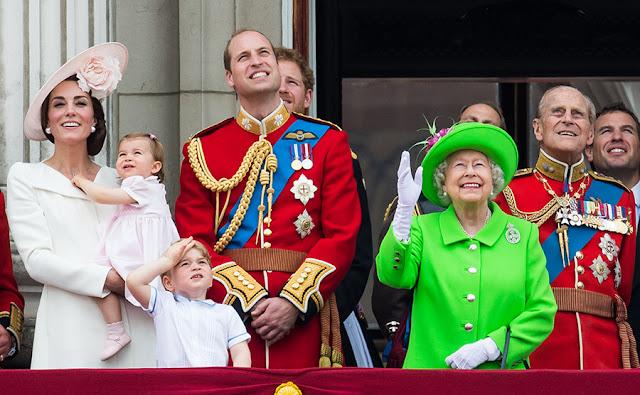 Festeggiamenti per i 90 anni della Regina, giugno 2016