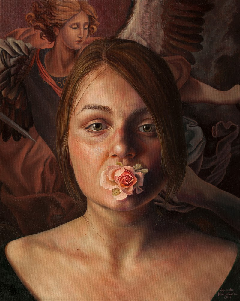Portrait Paintings by Agnieszka Nienartowicz from Poland.