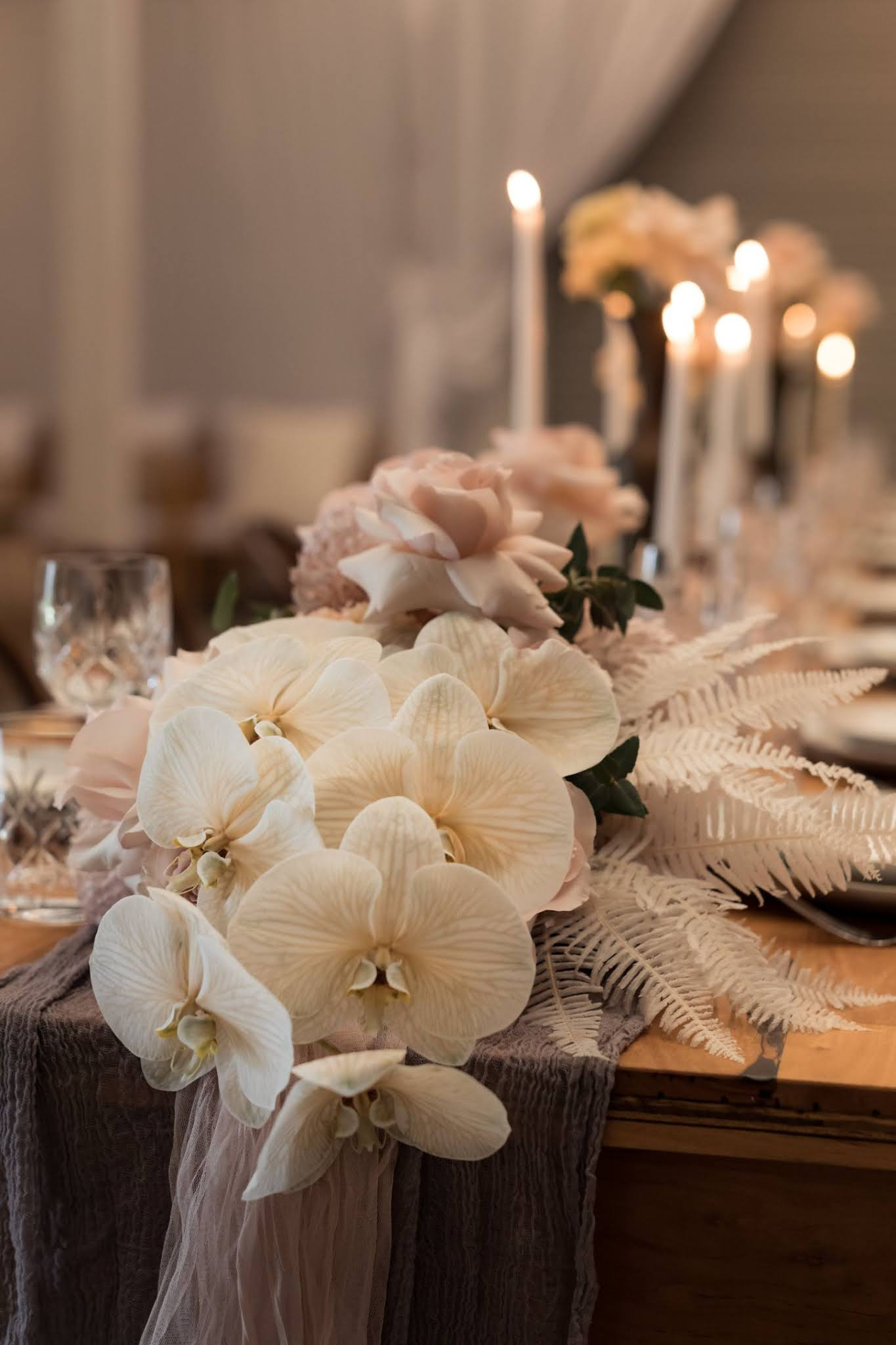 kath young photography yallingup wa perth weddings bridal gowns florals bouquet styling tablescape blush pink palette