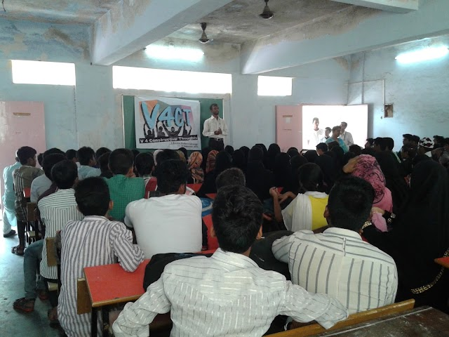 Spreading the Message of Constructive Thoughts among the Youths