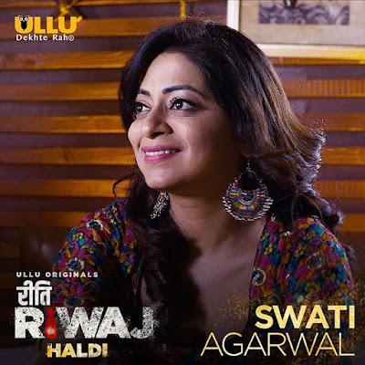 Riti Riwaz Haldi swati Agarwal
