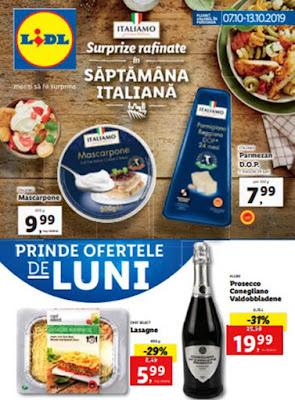 catalog lidl 7 octombrie 13 octombrie 2019 oferte saptamana italiana carne