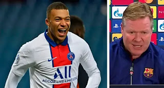 Koeman talks Mbappe and how to defend against him