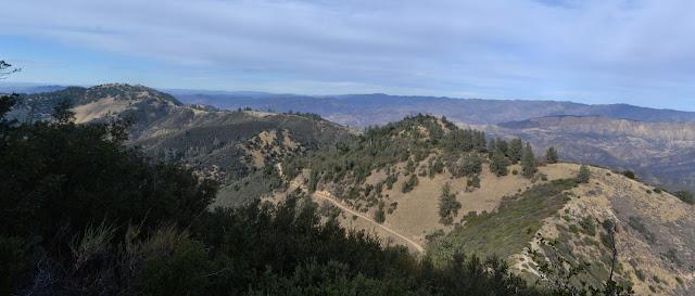 north ridge from Figueroa Mountain