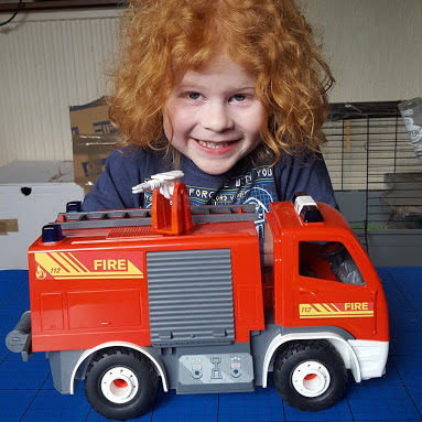 Revell Juniors Stage 1 Fire Engine Model Kit (age 4+) review