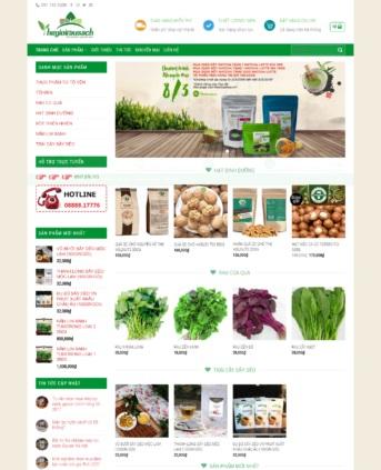 MẪU BÁN HÀNG 039 - đồ ăn thực phẩm