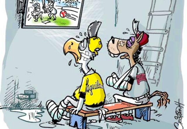"""Caricatura: """"A verlo por televisión"""""""