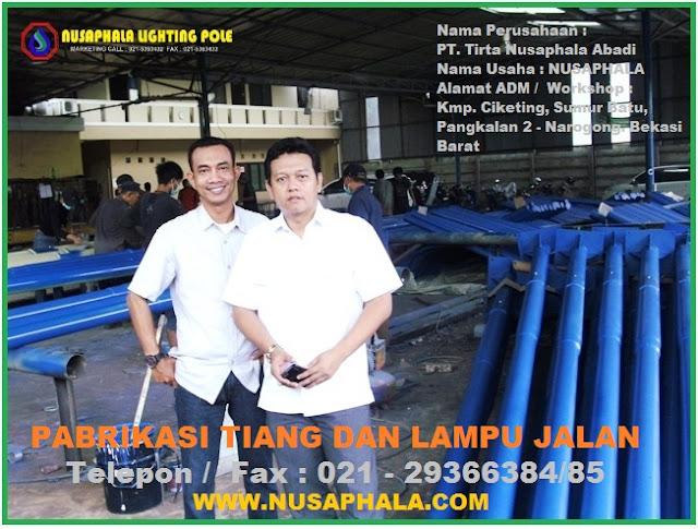 Pabrik Lampu Jalan