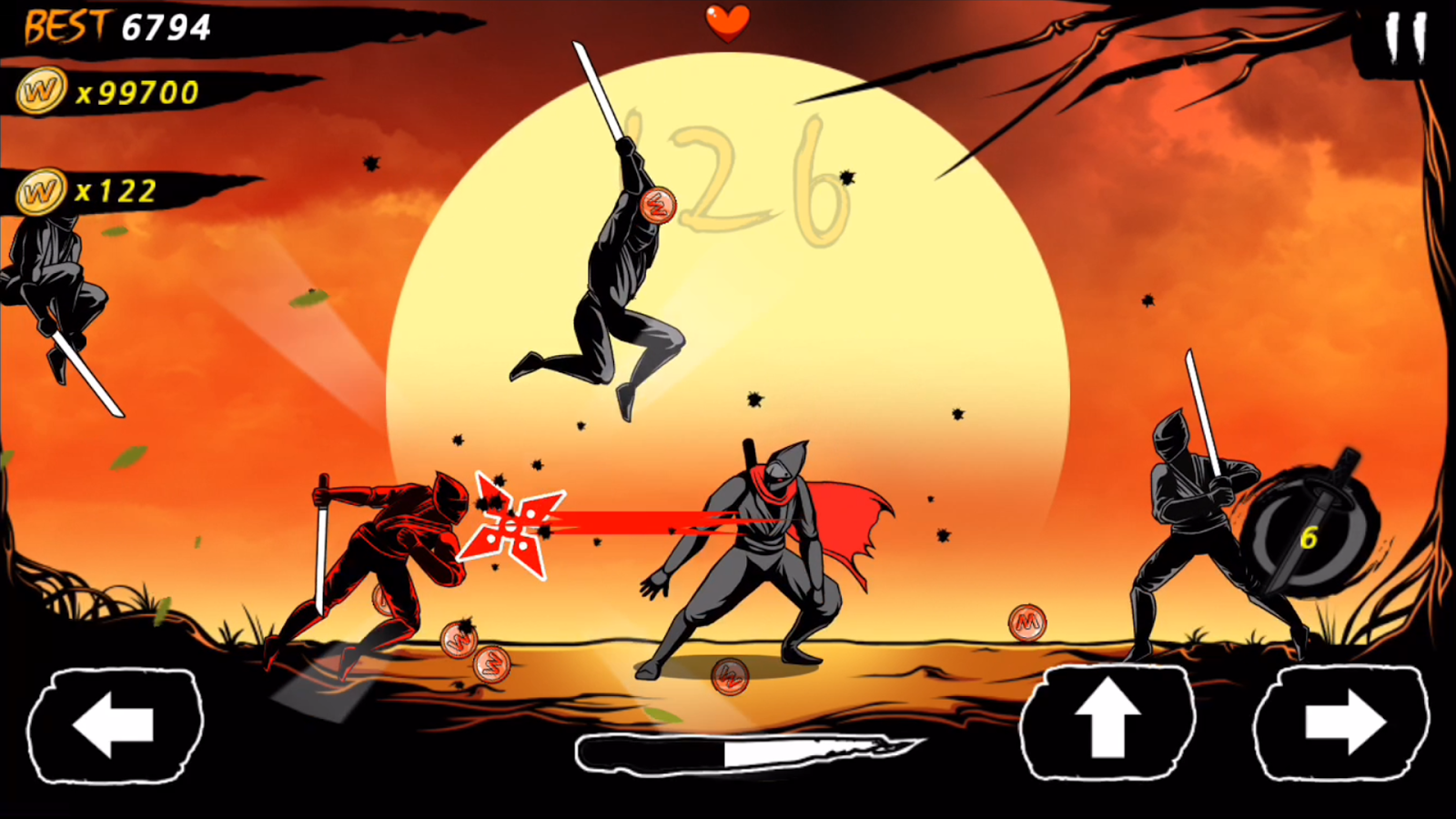 World Of Blade Zombie Slasher MOD APK terbaru