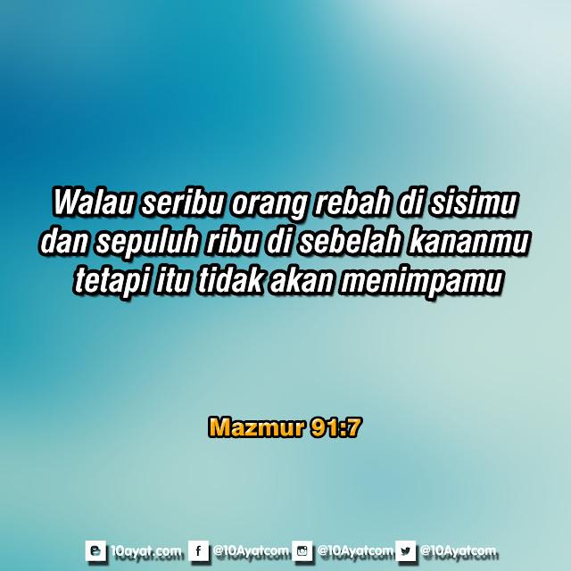 Mazmur 91:7