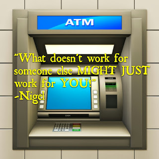 a day with The ATM machine